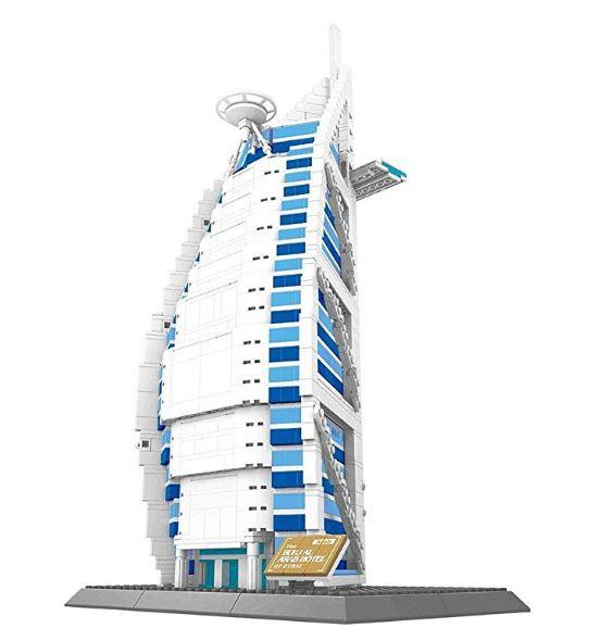 Hotel Burj al Arab de Dubai.