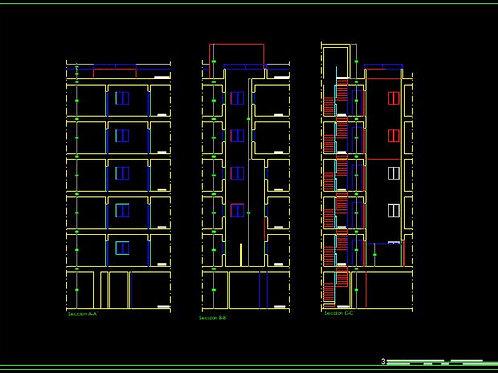 Proyecto de ASCENSOR en edificio plurifamiliar. Archivos Editables
