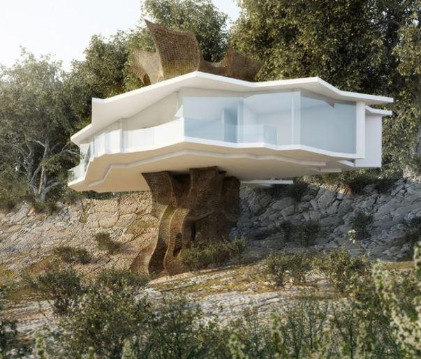 casa de la vid por peter stasek A 'ganador del premio de diseño en la categoría de arquitectura, construcción y diseño de estructuras, 2014 imagen © peter stasek