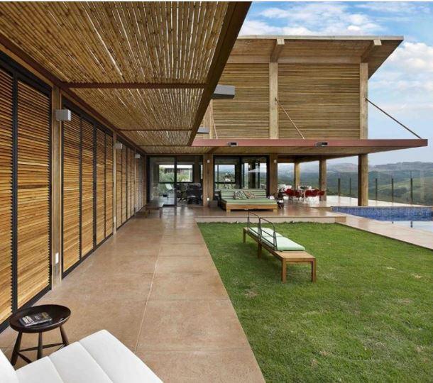 casa de montaña por david guerra ganador del premio de diseño A 'en la categoría de arquitectura, construcción y diseño de estructuras, 2016 imagen © jomar bragança