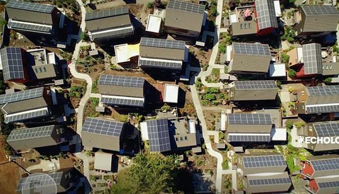 Construcción Sostenible. Barrio sostenible
