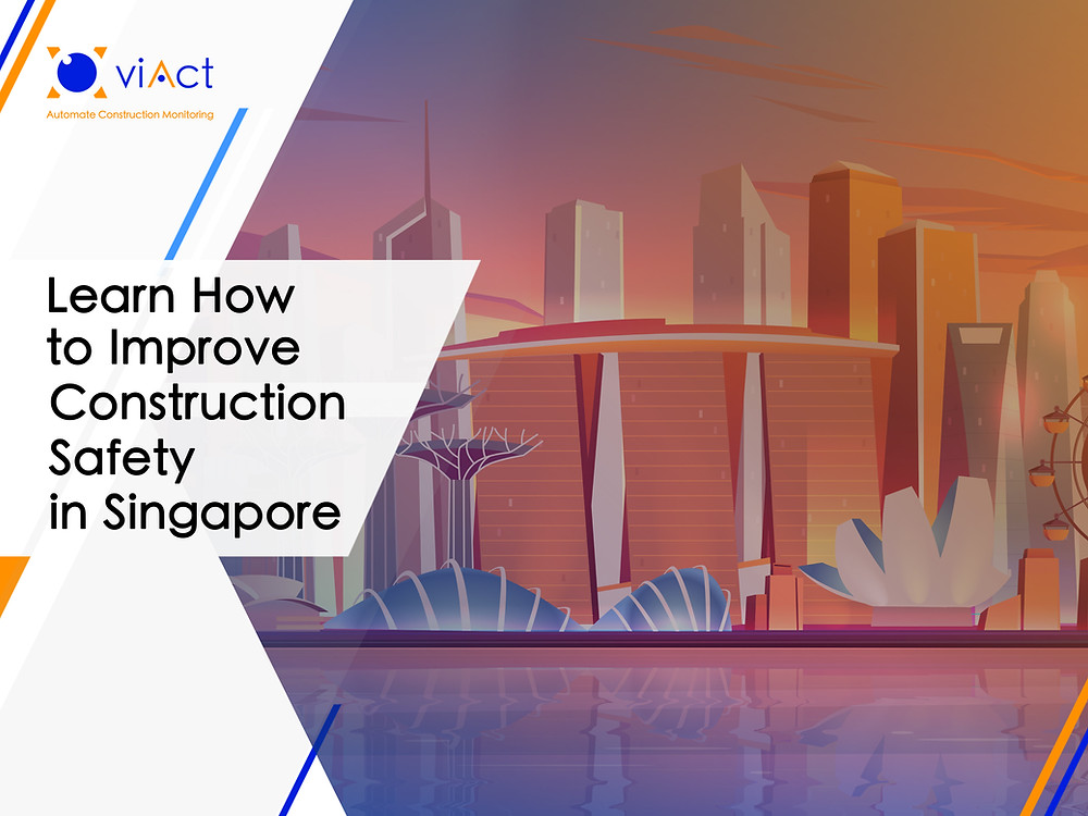 The benefits of using AI and Computer Vision for Singapore's construction industry ranges from optimization of tasks to increased safety on construction sites.