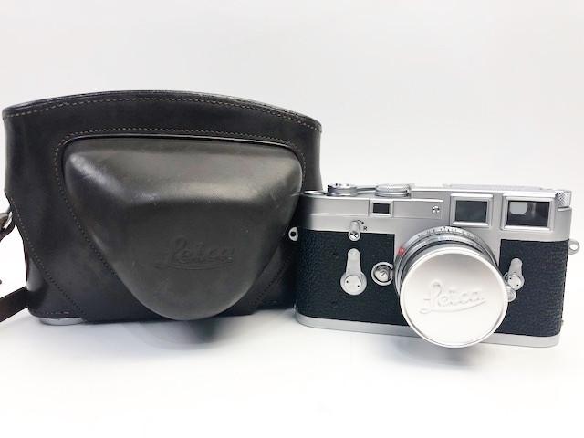 買取実績☆ライカ M3 Ernst GmbH Wetzlar Summicron f=5cm 1:2 カメラ買取 今池 千種 池下 名古屋No.1高価買取