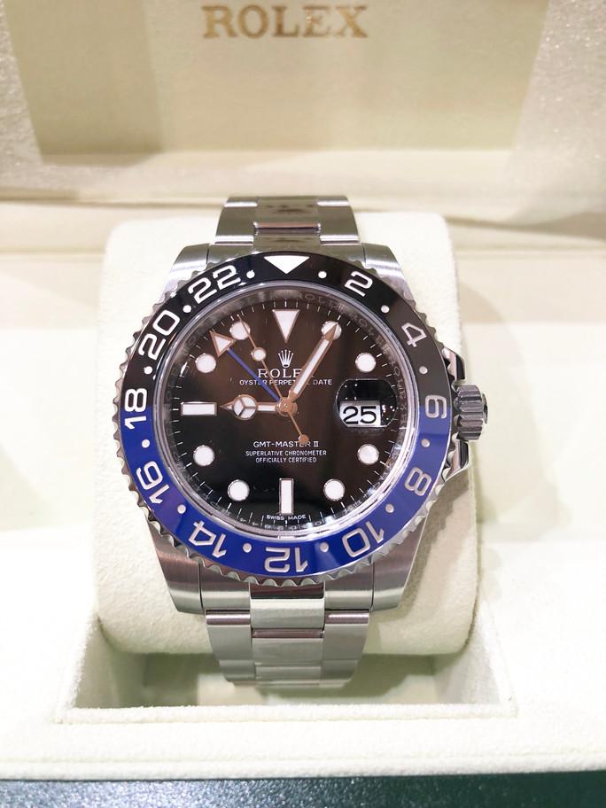 本日の買取実績☆ロレックス GMTマスター 116710BLNR