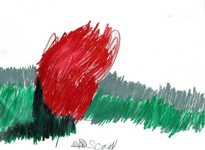 Scott Ryker 9x12 oil pastel on paper  $2