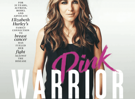 Elizabeth Hurley Cover Story | Breast Cancer Awareness