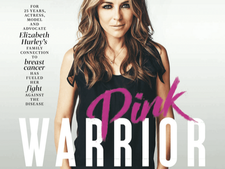Elizabeth Hurley Cover Story | Breast Cancer Awareness