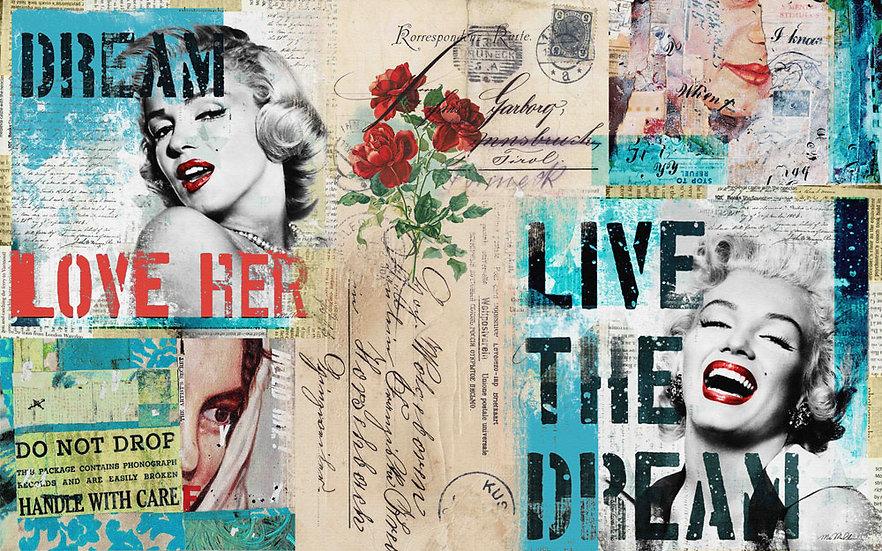 4K Marilyn Monroe Duvar Posterleri   Marilyn Monroe 3 Boyutlu Duvar Kağıdı