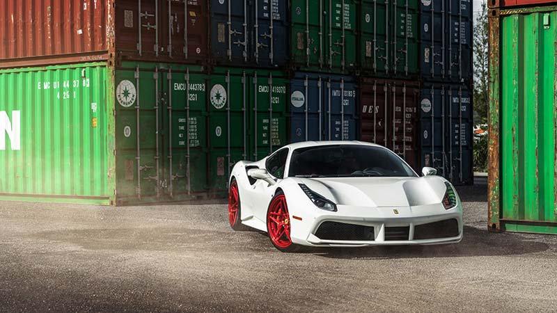 2019 Ferrari 488 Duvar Kağıtları Modelleri | 3D 2018 Otomobil Duvar Kağıdı