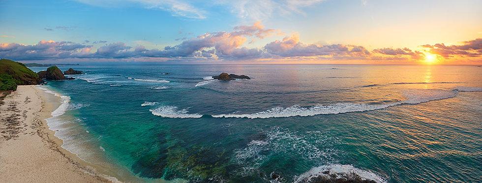 3 Boyutlu Deniz Manzarası Duvar Kağıtları