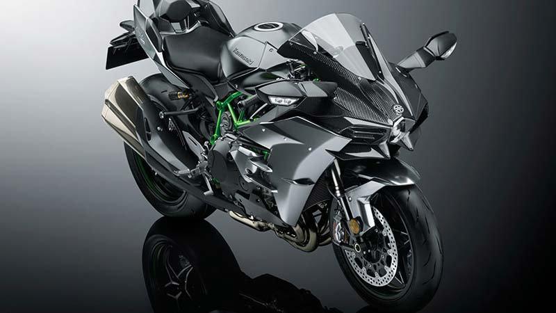 Motor Çeşitleri Duvar Kağıdı Modelleri   3D Kawasaki Ninja Motor Duvar Kağıtları