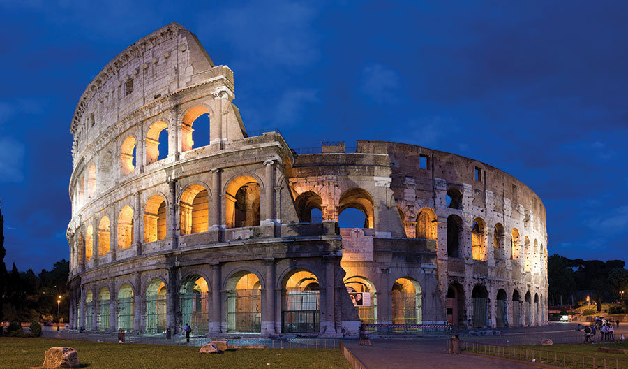 İtalya Kolezyum Manzaralı Duvar Kağıtları Modelleri