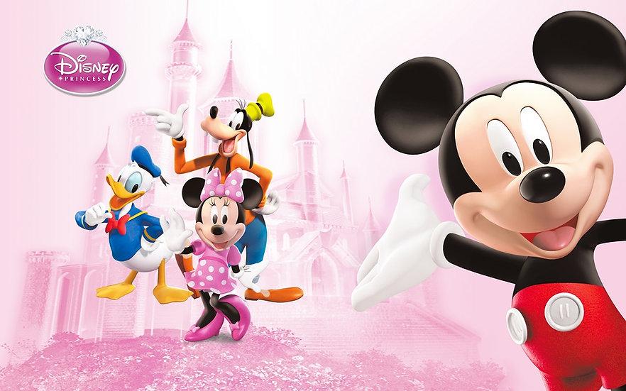 3 Boyutlu Disney Kahramanları Duvar Kağıdı | Disney Duvar Kağıdı | Maltepe