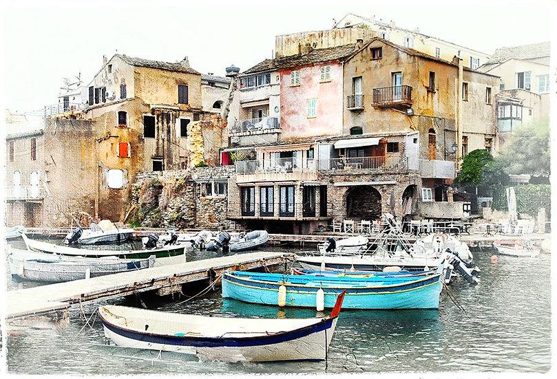 3D Eski Balıkçı Köyü Duvar Kağıdı | Full HD Venedik Duvar Kağıtları