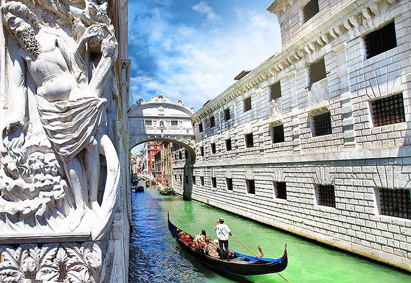 3 Boyutlu Venedik Duvar Kağıtları | HD Venedik Gondol Duvar Kağıtları