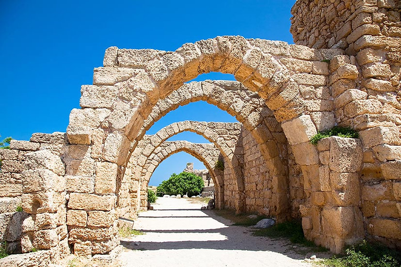 3 Boyutlu Taş Duvar Kağıtları | Efsane antik Sezar Kalıntıları Duvar Kağıtları