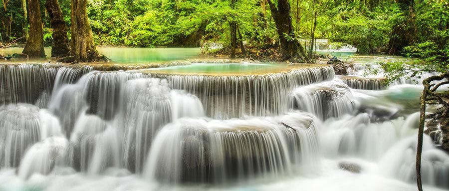 Akarsu Nehir HD Duvar Kağıtları | 3D Şelale Akışı Duvar Kağıtları | İzmir