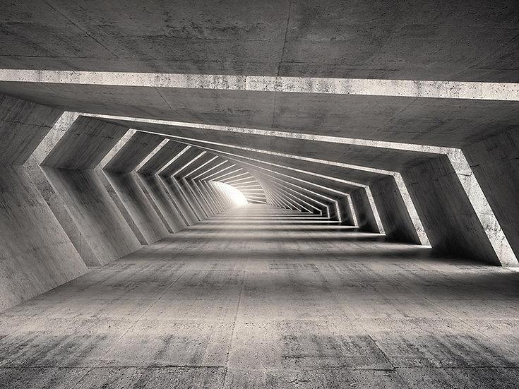 3 Boyutlu Led Tünel Duvar Kağıtları | Full HD Derin Soyut Tünel Duvar Kağıtları