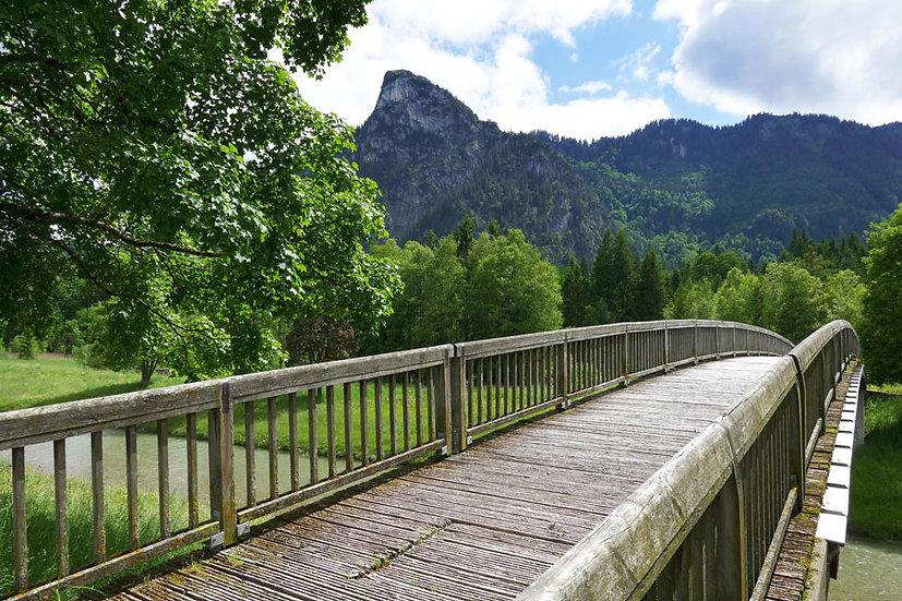Üç Boyutlu Tahta Köprü Duvar Kağıtları | Köprü Manzara Duvar Kağıtları Şekilleri