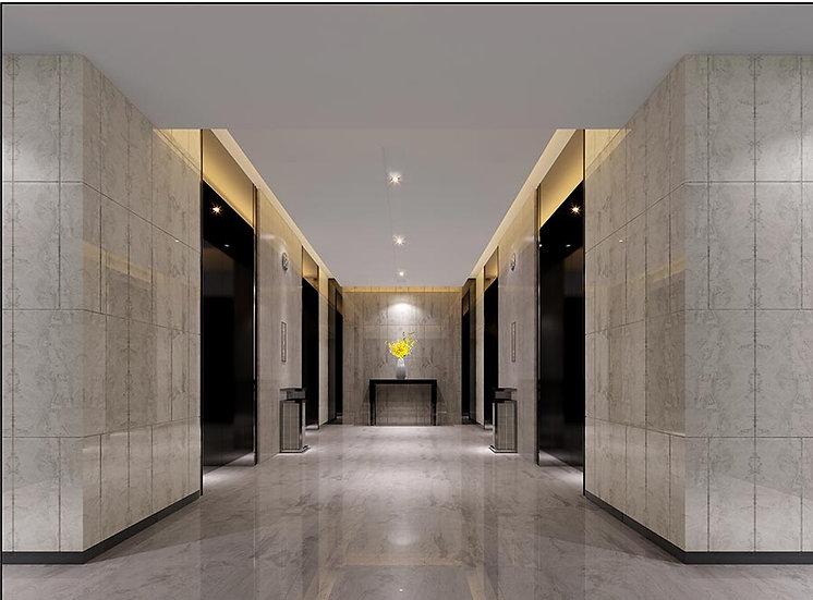 3 Boyutlu Koridor Duvar Kağıdı