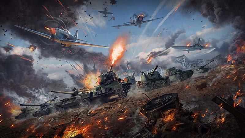 Full HD War Thunder Duvar Kağıdı | 3 Boyutlu Thank Savaşı Duvar Kağıtları