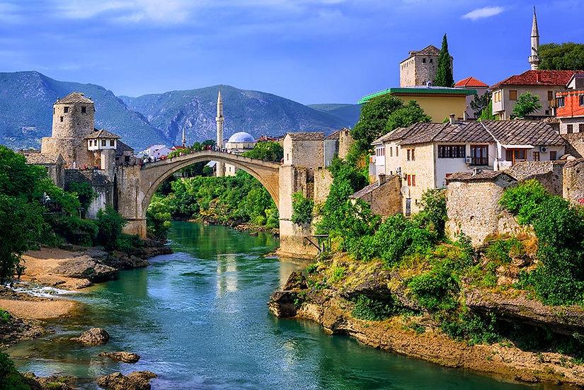 Mostar Köprüsü Duvar Kağıdı