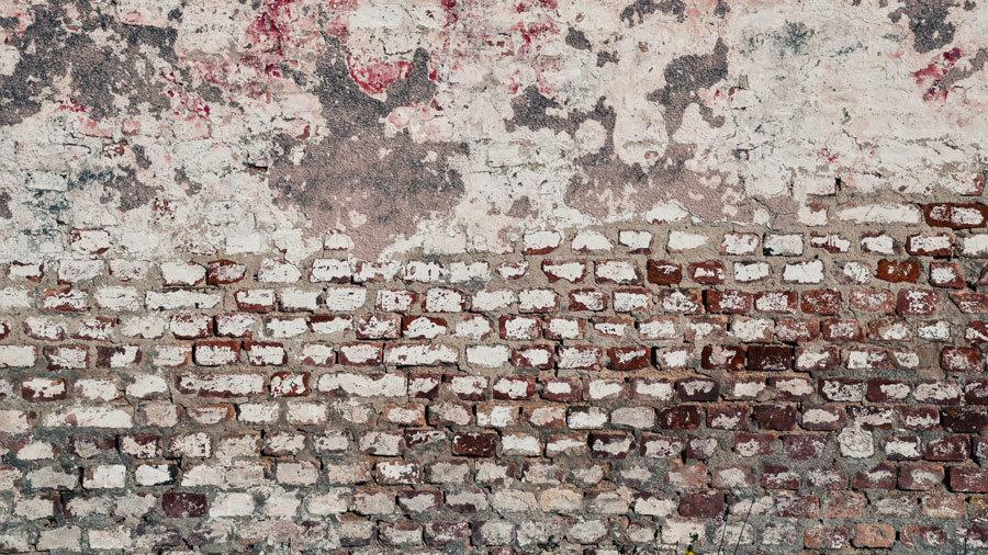 Eski Tuğlalı Duvar Kağıdı | 3D Tuğla Duvar Resmi | Edremit