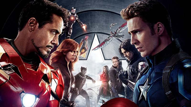3D Duvar Kağıdı | Iron Man Kaptan Amerikaya Karşı 3 Boyutlu Duvar Kağıtları