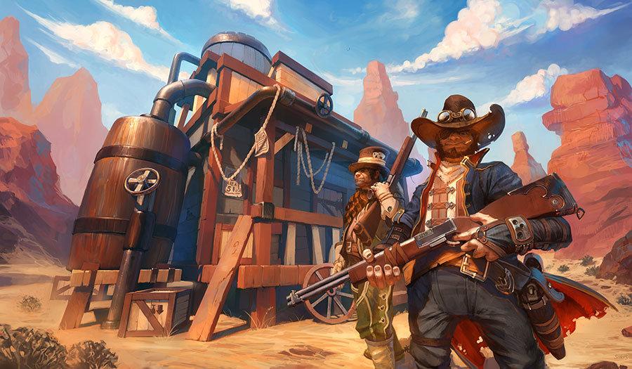 Full HD Oyun Odası Duvar Kağıtları | 3D Kovboy Oyunları Görseli Duvar Kağıtları