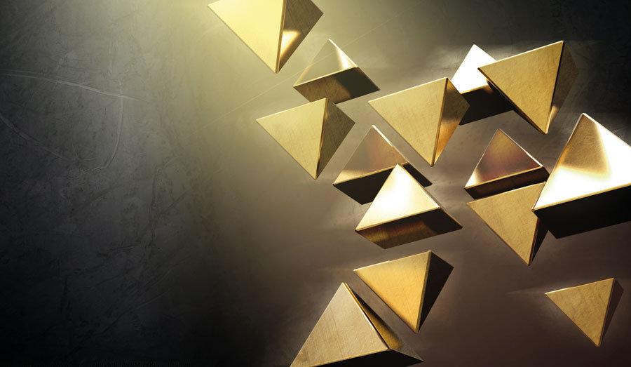 3D Gold Pramit Duvar Kağıdı   Makam Odası Duvar Kağıtları   İstanbul
