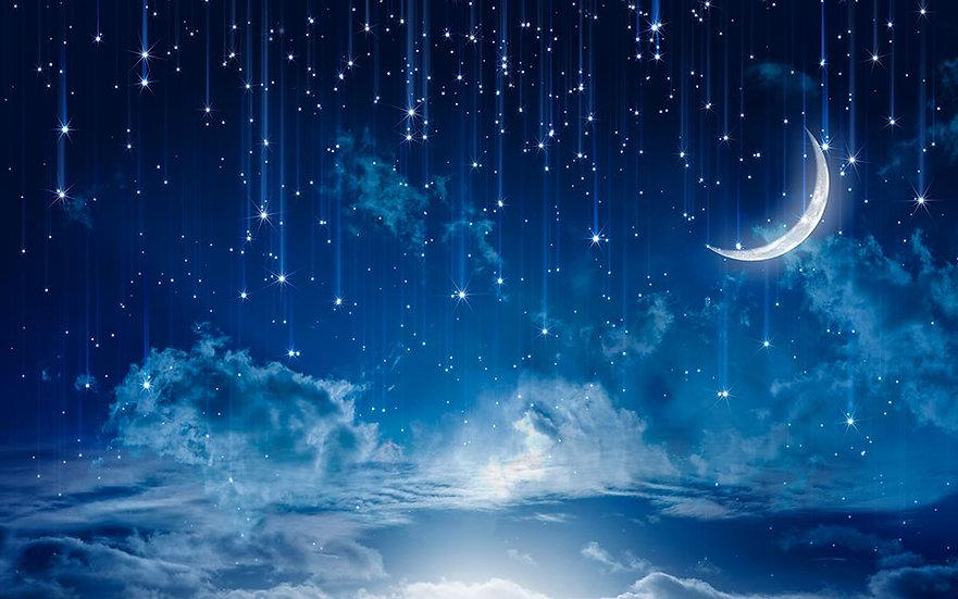Sakin Gökyüzü HD Duvar Kağıtları | Kabartmalı Çocuk Odası Duvar Kağıtları