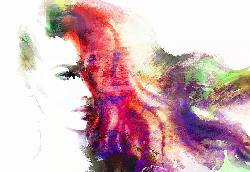 3 Boyutlu Duvar Kağıtları   HD Bayan Kuaförü Güzellik Merkezi Duvar Kağıtları