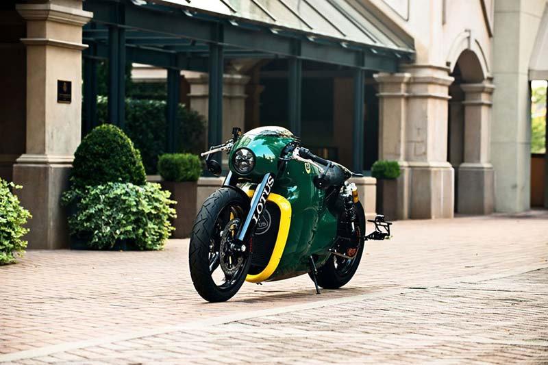 Motor Duvar Kağıdı Modelleri | 3 Boyutlu Yeşil Lotus Motosiklet Duvar Kağıtları