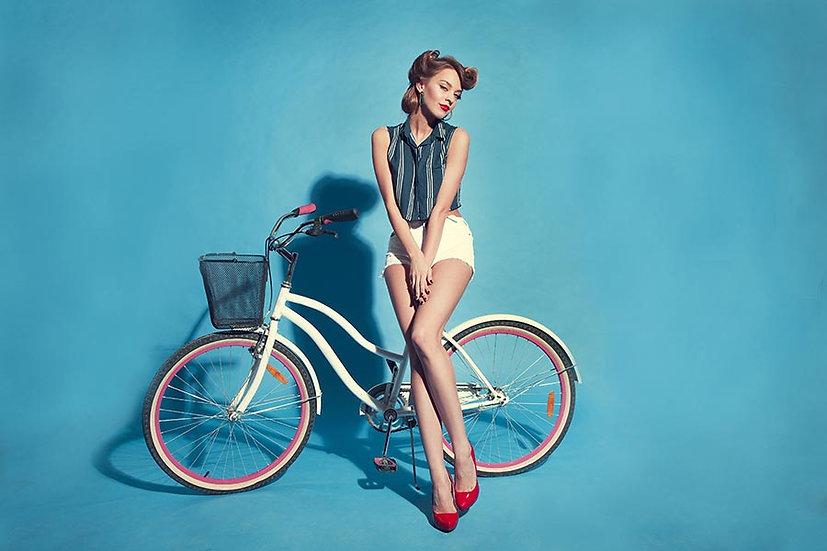 3 Boyutlu Duvar Kağıtları HD | Dokulu Bisiklet Tanıtımı Moda Duvar Kağıtları