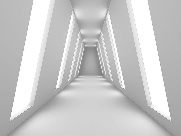3D Tünel Duvar Kağıtı | 1 m2 fiyatı