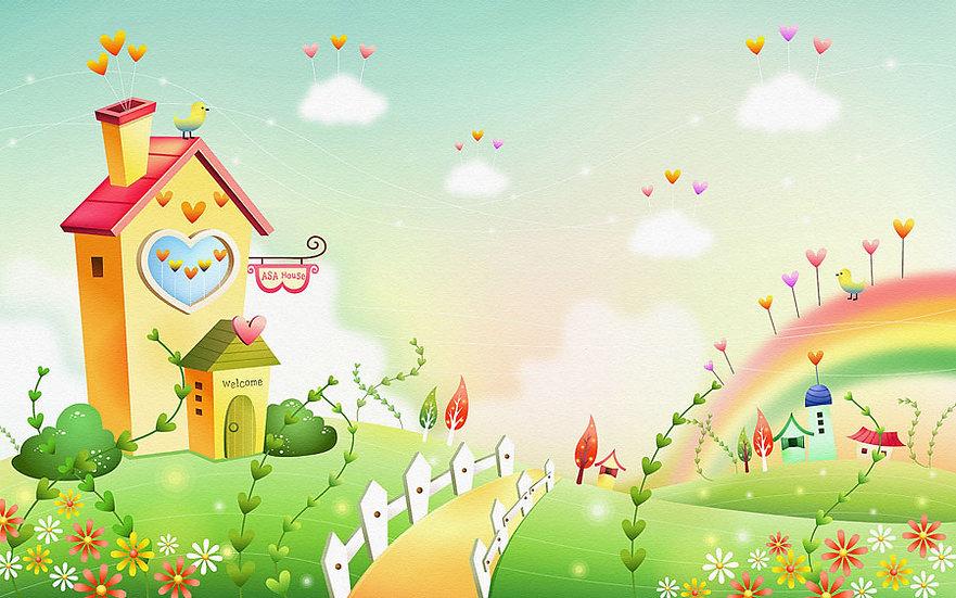 Animasyon Ailesi HD Duvar Kağıtları   Çocuklar İçin Animasyon Duvar Kağıtları