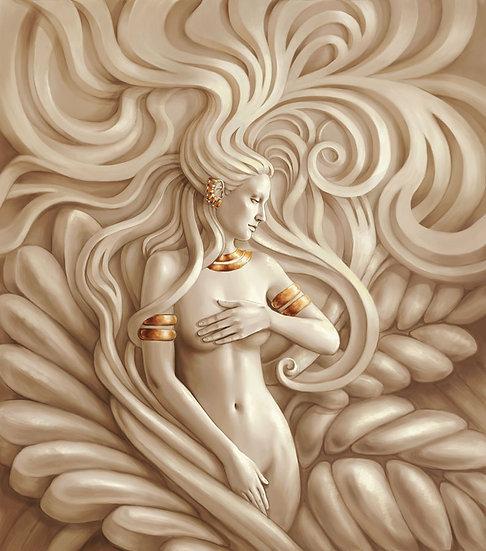 3D Medusa Kadını Duvar Kağıdı | Medusa Duvar Kağıdı