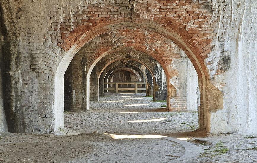 Kemerli 3 Boyutlu Tünel Duvar Kağıdı | 1 m2 fiyatı