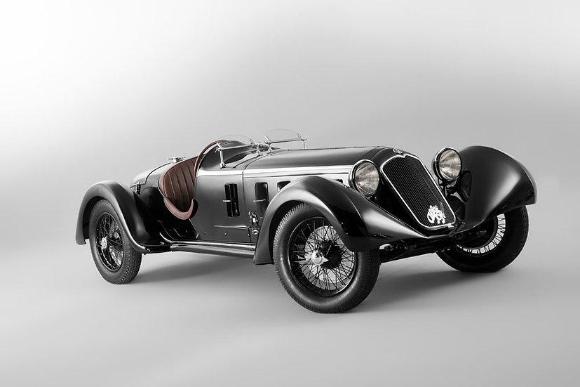 Tarihi Alfa Romeo Duvar Kağıtları | 3D Tarihi Eser Arabalar Duvar Kağıtlar