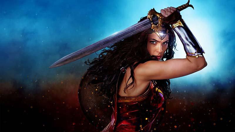 Full HD Wonder Woman Duvar Kağıdı | 3 Boyutlu Çocuk Odası Duvar Kağıtları