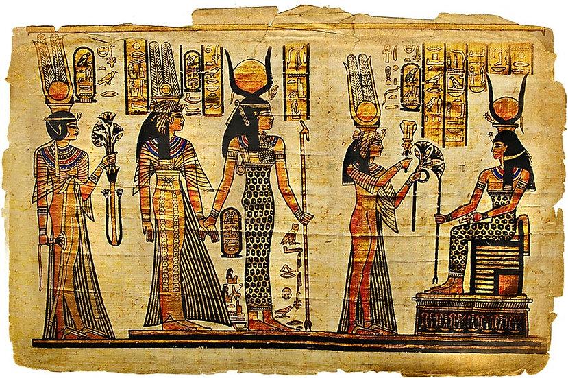 3D Mısır Parşömenleri Duvar Kağıdı | Parşömen Duvar Kağıtları