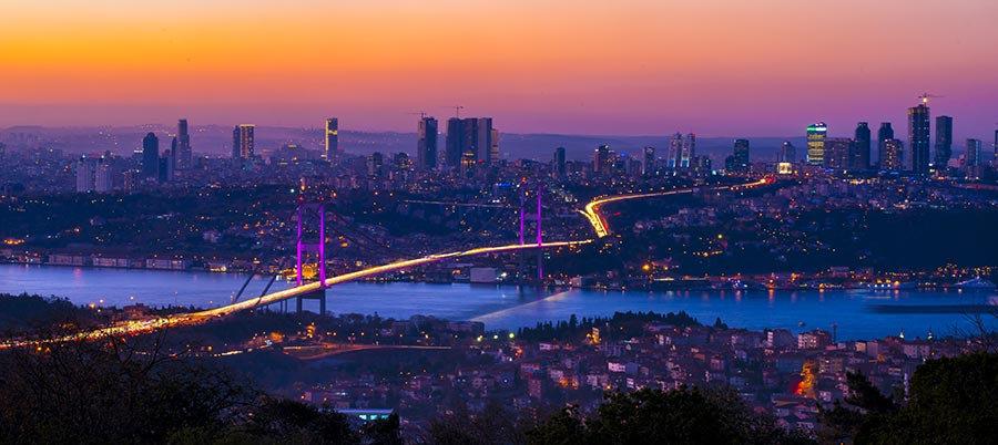 HD İstanbul Gece Manzara Duvar Kağıtları | 3 Boyutlu İstanbul Duvar Kağıtları