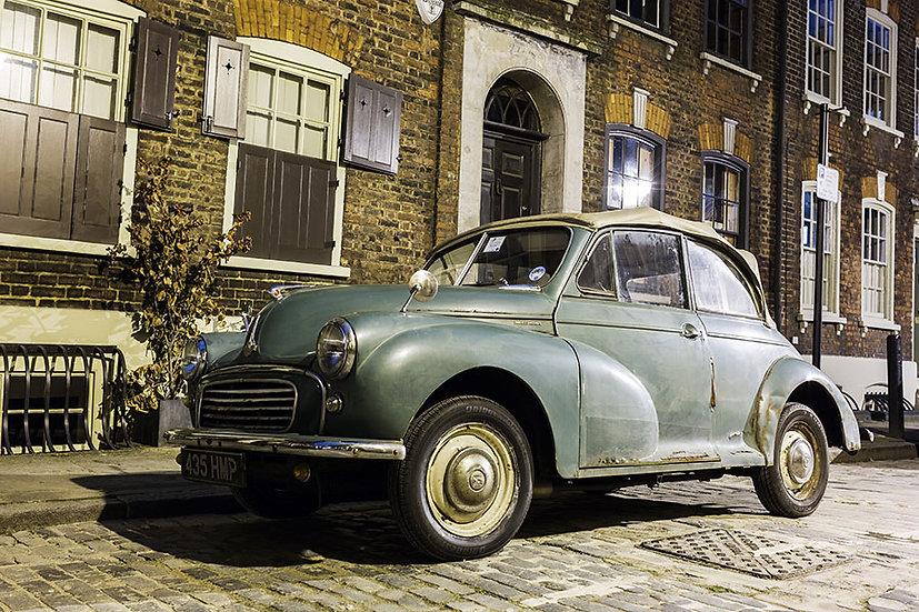 Gri Klasik Araba Duvar Kağıdı