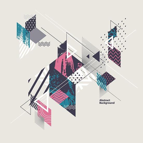 3 Boyutlu Barcelona Kağıtları | Dokulu Grafik Tasarım Duvar Kağıtları