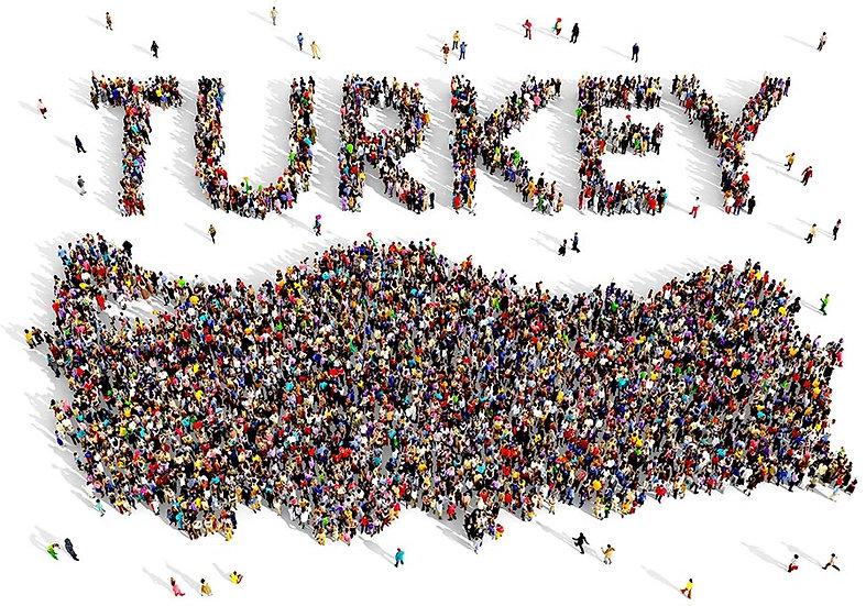 3 Boyutlu Türkiye Harita Duvar Kağıdı | Full HD Kalabalı Duvar Kağıtları | Aydın