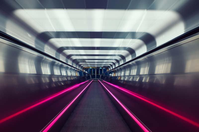 Tünel Duvar Kağıdı | 3D Tünel Duvar Kağıdı | 3 Boyutlu Tünel Duvar Kağıdı
