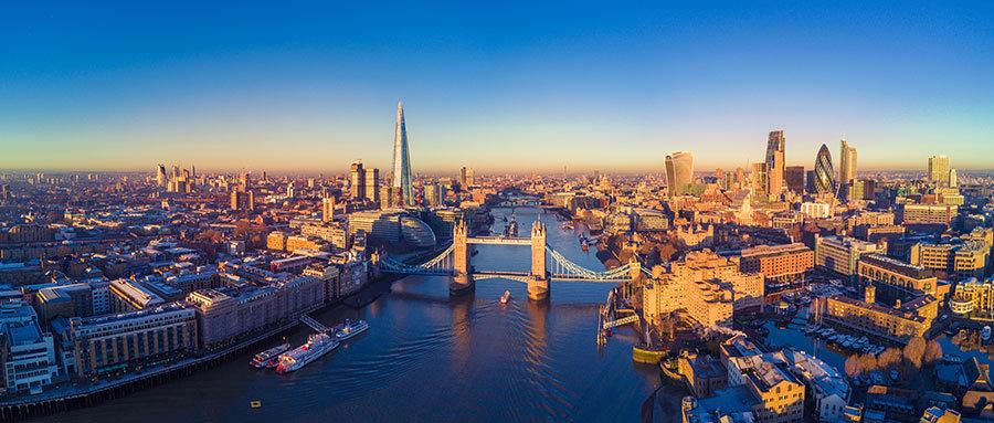 Londra Köprüsü Duvar Kağıdı | 1 m2 fiyatı