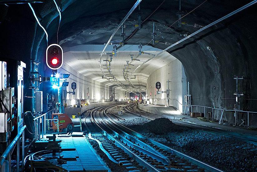 3 Boyutlu Metro Tünel Duvar Kağıdı
