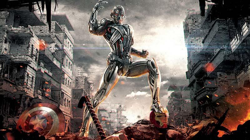 Full HD Ultron Duvar Kağıdı | 3 Boyutlu Avengers Ultron Duvar Kağıtları