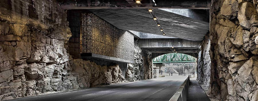 3 Boyutlu Tünel Duvar Kağıdı Örnekleri   2019 Duvar Kağıdı Örnekleri
